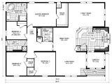 Clayton Homes Triple Wide Floor Plans Triple Wide Mobile Home Floor Plans Russell From Clayton