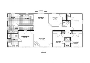 Clayton Mobile Homes Floor Plans Manufactured Home Floor Plan Clayton Sedona Limited