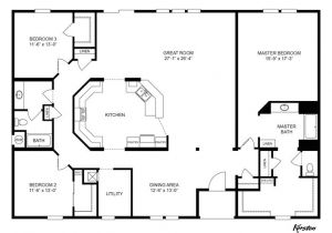 Clayton Mobile Homes Floor Plans Master Bathroom Clayton Homes Home Floor Plan