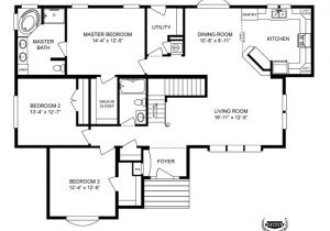 Clayton Modular Home Plans Clayton Homes Home Floor Plan Manufactured Homes