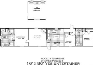 Clayton Single Wide Mobile Homes Floor Plans 16 X 80 Mobile Home Floor Plans Elegant Clayton Yes Series