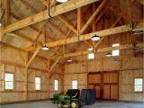 Clear Span Homes Plans Houses and Barns King Post Barn