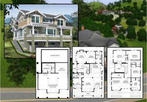 Cliffside Home Plans Mod Sims Bedroom Craftsman Cliffside Home House Plans