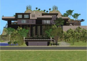 Cliffside Home Plans Sims 2 Cliffside House by Ramborocky On Deviantart