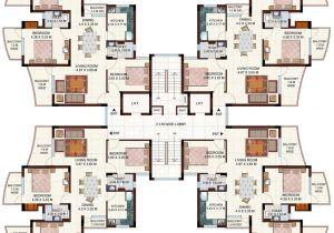 Cluster Home Floor Plans Ansals Tanushree Nh 24 Ghaziabad Apartment Flat