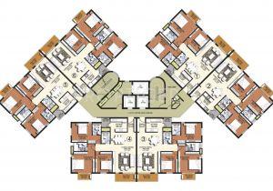 Cluster Home Floor Plans asv Alexandria In Sholinganallur Chennai Price