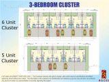 Cluster Home Floor Plans Real Estate Home Lot Sale at 3 Bedroom Cluster Floor Plan