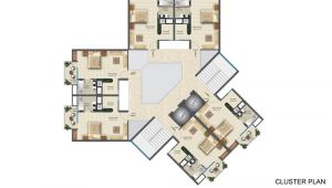 Cluster Home Plans Iitl Nimbus Palm Village Sector 22d Greater Noida