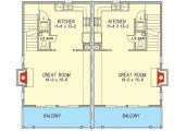 Coastal Duplex House Plans Coastal Duplex House Plan 31505gf Architectural