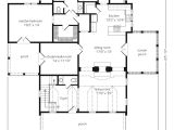 Coastal Home Floor Plans Eastover Cottage Watermark Coastal Homes Llc southern