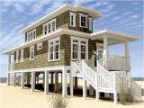 Coastal Home Plans Elevated Modern Beach House Plans On Stilts