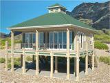 Coastal Home Plans On Pilings Modern Beach House Plans On Stilts