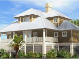 Coastal Home Plans On Pilings Shelter Cottage Piling Foundation 2117 Sf southern