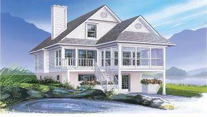 Coastal House Plans for Narrow Lots Beach House Plans Narrow Coastal House Plans Narrow Lots