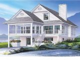 Coastal House Plans for Narrow Lots Captivating Waterfront Home Plans Narrow Lot Photos