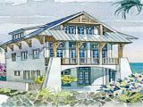 Coastal House Plans for Narrow Lots Coastal Homes House Plans Coastal House Plans Narrow Lots