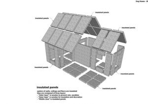 Cold Weather Dog House Plans Cold Weather Dog House Plans Insulated Dog House Designs