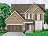 Colonial Home Plan 2 Story southern Colonial House Plans Colonial House Plans