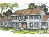 Colonial Home Plan Colonial House Plans Kearney 30 062 associated Designs