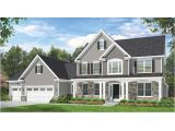 Colonial Home Plan Eplans Colonial House Plan Space where It Counts 2523