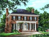 Colonial Home Plan House Plan 86225 at Familyhomeplans Com