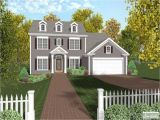 Colonial Home Plan New England Colonial House Plans Colonial House Plans