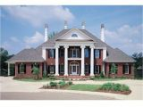 Colonial Home Plan southern Colonial Style House Plans Federal Style House