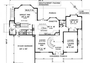 Colonial Homes Floor Plans Five Bedroom Colonial House Plan