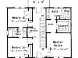 Colonial Homes Floor Plans Plan 44045td Center Hall Colonial House Plan Narrow Lot