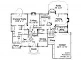 Colonial Style Home Floor Plans Colonial House Plans Palmary 10 404 associated Designs