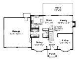Colonial Style Home Floor Plans Colonial House Plans Westport 10 155 associated Designs