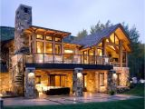 Colorado Home Plans Walkout Basement House Plans for A Rustic Exterior with A