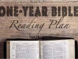 Coming Home Network Bible Reading Plan Daily Reading Plan One Community Church