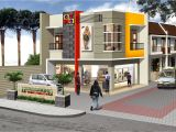 Commercial Home Plans Architectures 3 Storey Commercial Building Floor Plan