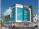 Commercial Home Plans Commercial Building Plans Kerala Model Home Plans