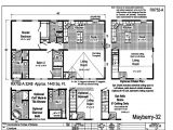 Commodore Homes Floor Plans Grandville Le Modular Ranch Mayberry 32 Rx752a
