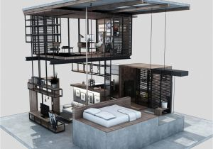 Compact Home Plans Compact Modern House Made From Affordable Materials