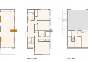 Compact Home Plans First Second Third Level Plans Compact Contemporary