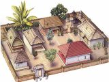 Compound Home Plans Balinese House Architecture