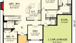 Concept Home Plans Plan 89845ah Open Concept Ranch Home Plan Craftsman