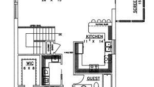 Concrete Block Homes Floor Plans Concrete Block Icf Vacation Home with 3 Bdrms 2059 Sq