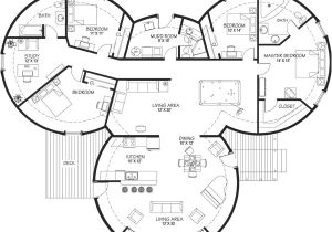 Concrete Dome Home Plan Concrete Dome Home Floor Plans Homemade Ftempo