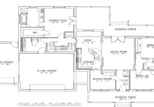 Concrete Home Floor Plans Concrete form House Plans House Design Plans