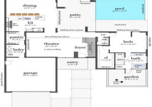 Concrete Home Floor Plans Modern Concrete House Floor Plans