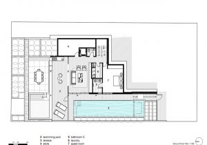 Concrete Home Floor Plans Modern House Plans Concrete