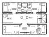 Conex Box Home Plans Conex House Plans Container House Design