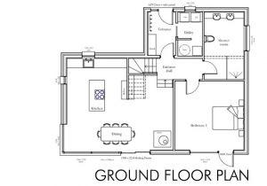 Construction Home Plans Floor Plan Self Build House Building Dream Home