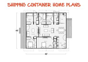 Container Van House Design Plan Shipping Containers House Plans Container House Design 2