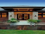 Contemporary Craftsman Home Plans Prairie Style Exterior Doors Contemporary Craftsman Style