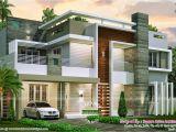 Contemporary Floor Plans Homes 4 Bedroom Contemporary Home Design Kerala Home Design